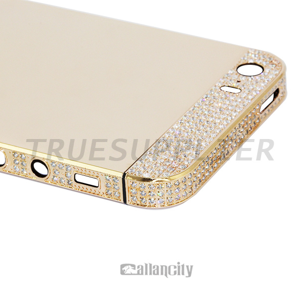 stylish second hand italy wholesale for apple iphone 5s metal embellishments for phone