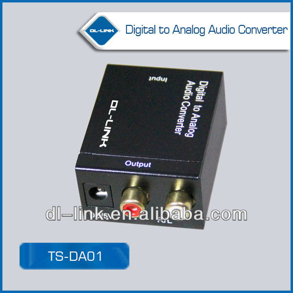 Hot New Products for 2014 Optical Coaxial Analog to digital audio converter Made in China
