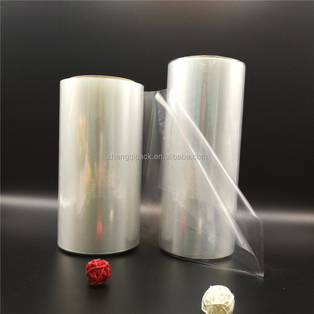 China Manufacturer Supplier Custom Soft Moisture Proof Cast polyolefin / POF Shrink Film For Packing