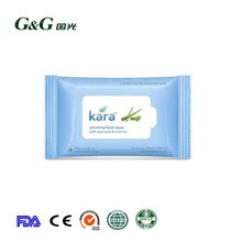 Refreshing facial wipes cool sanitary wipes