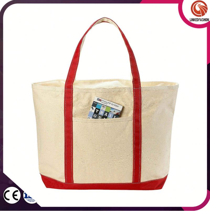 Quality and quantity assured promotional new fashion cross body shopping bag tote bags canvas bags