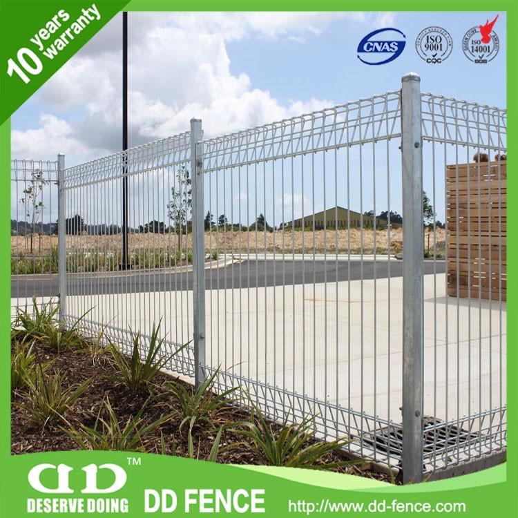 Roll top weld fencing vinyl mesh fence metal
