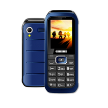 2.4 Inch GSM Unlocked 3 SIM Card Phone Elder Outdoor Mobile Phone With Loud Sound K5000