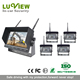 wireless outdoor security system 12-24V DC truck wireless camera system