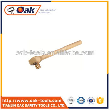 BeCu China oak company explosion proof forging beryllium copper double pawl ratchet