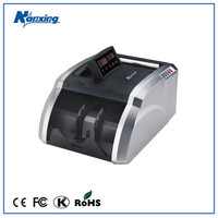 currency printing machine with counterfeit detector