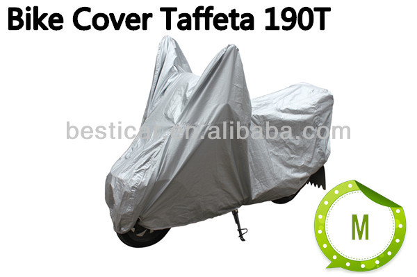custom plastic rain protection two and three wheel motorcycle seat cover