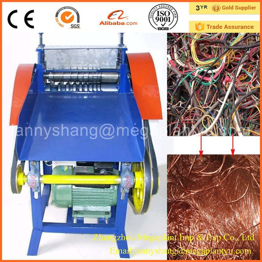 Industrial Coaxial Cable Wire Stripping Machine for Sale