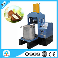 Hydraulic type cold pressed coconut oil machine