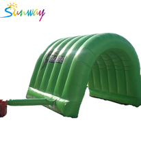Best selling inflatable event tent china, inflatable green arch track advertising tent, china inflatable tent manufacturers