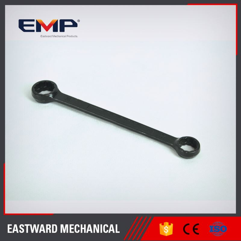 Black Finished New Design Slogging Ring Forged Ratchet Ring Spanner