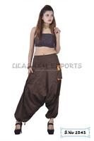 2543 Cotton Afgani Trouser supplier ladies readymade garments cotton summer trousers