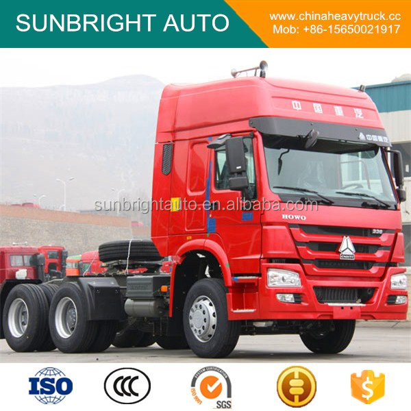 SINOTRUK HOWO 10 Wheeler Tractor Head Truck With High Cab for Sale