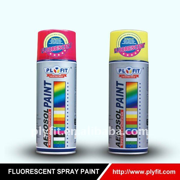 bright durability Flourescent spray paint