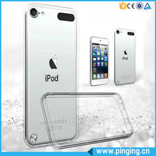New Phone Case TPU Bumper Acrylic Crystal Transparent Cover Case For iPod Touch 6 Case