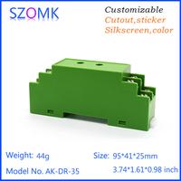 din rail plastic enclosure electrical junction box cover
