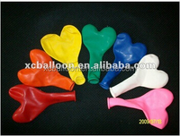 2014 hot selling heart shape latex party balloon