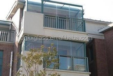 steel reinforced tempered glass windows