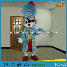 bottom price pirate mascot costume for sale