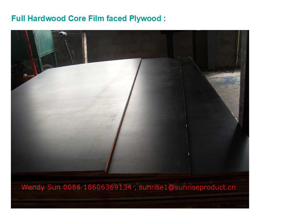 18mm WBP glue Black/Brown/Red Film faced Plywood/Formwork Plywood/Marine Plywood