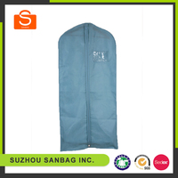 Breathable eco-friendly nonwoven garment bag