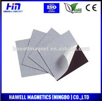 Flexible One Side Self adhesive Magnetic Rubber Sheet