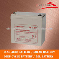 Maintenance free, UPS replacement battery 12V55AH