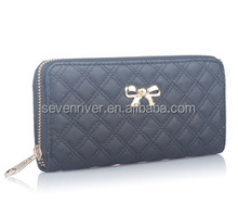 Wholesale new fashion women embroider butterfly leather wallet
