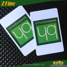 Z-fine Classic 125khz PVC Cards/Inkjet Printed Embossed Business Cards China Factory Supplier