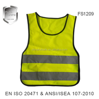 Reflective safety vest triangle for kids