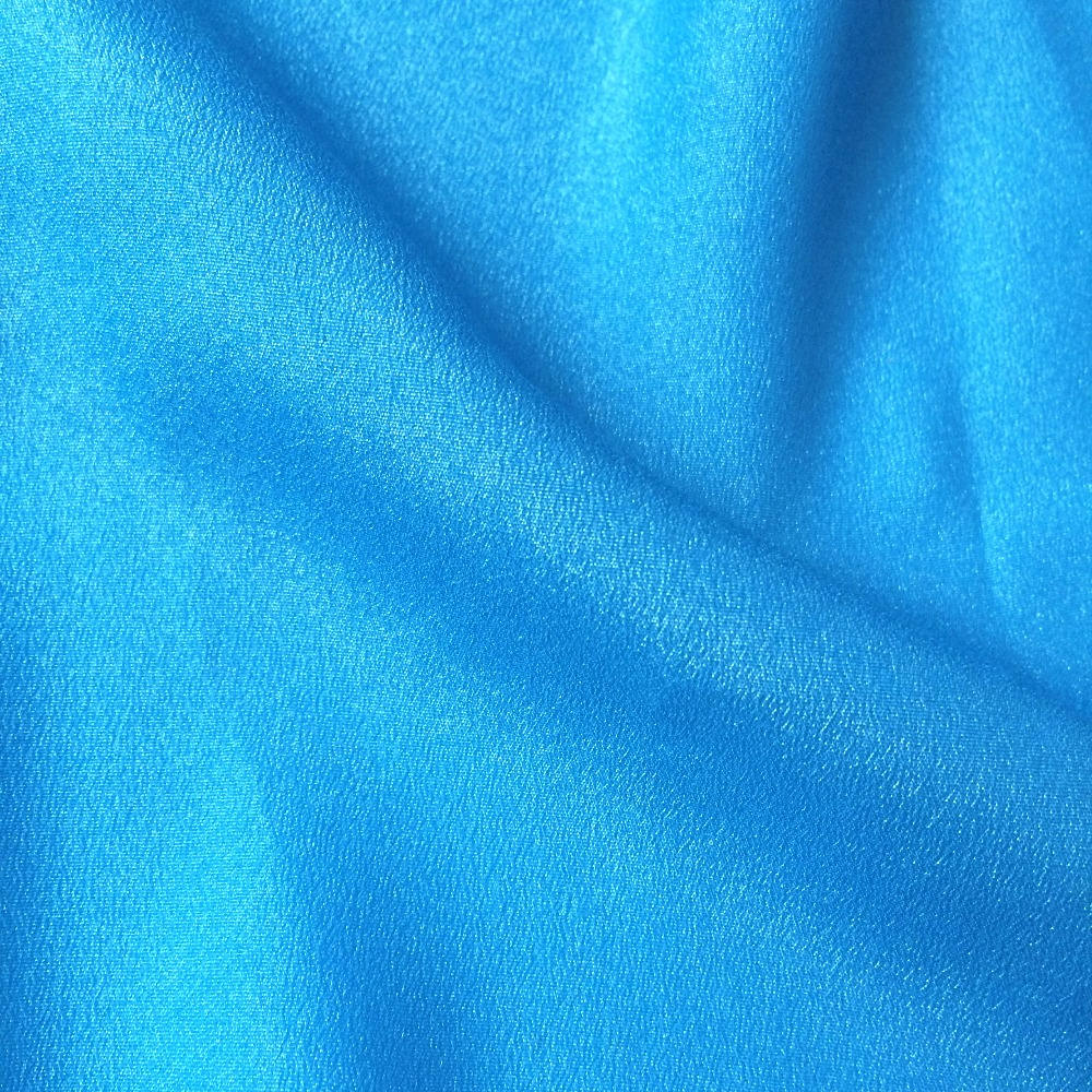 fashion 50D bright crepe chiffon 100 polyester crinkle chiffon fabric for dress