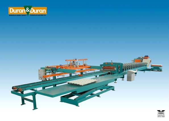 "FULL AUTOMATIC ""METAL TILE"" ROLL FORMING MACHINE"