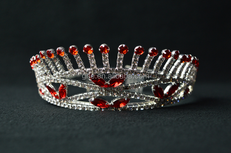 Small metal girls princess crown headband children princess crown cheap flower girl crown buy - Small tin girl ...