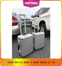 FULL Aluminum material trolley suitcase China Supplier