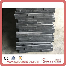Multicolor natural slate culture stone panels for decorating fireplace wall veneer in China