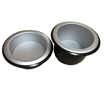 OEM High Quality Spinning Anodizing Aluminium Cooling And Heating Cup holder