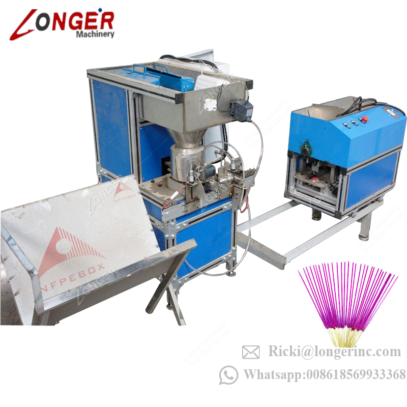 Factory Supply Fully Automatic Incense Stick Making Machine Agarbatti Making Machine Price