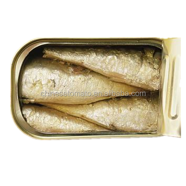 125g cheap canned sardine in vegetable oil from China