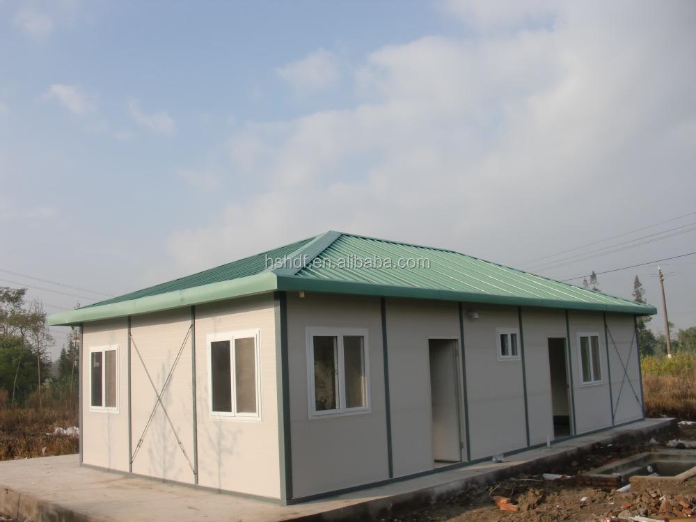 3 Bedrooms Earthquake Prevention Modular Kit Prefab House