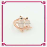 Opal animal shape mood ring factory price