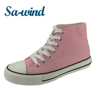 Colorful Custom Brand Women Canvas Shoes