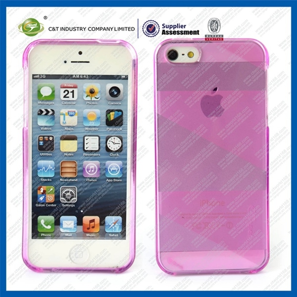 Newest blank sublimation wholesale soft tpu case for iphone 5c