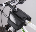 Outdoor Cycling Bicycle Front Tube Bag with Reflective Strip Bike Bicycle Frame Front Tube Small Double Bag