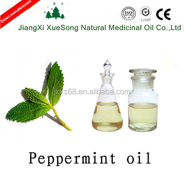 Jiangxi Xuesong 50% L-piperitol pharmacopeia standard bluk peppermint oil prices from Supplier or Manufacturer