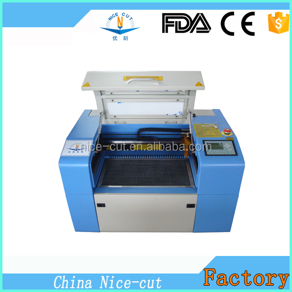 Christmas Promotion ! !JIANAN NICE-CUT CO2 laser engraving machine 5030 laser cutting machine 50*30cm USB small laser engraving