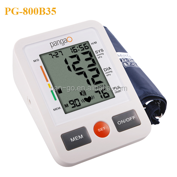 Automatic digital arm blood pressure monitor with FDA,CE approval
