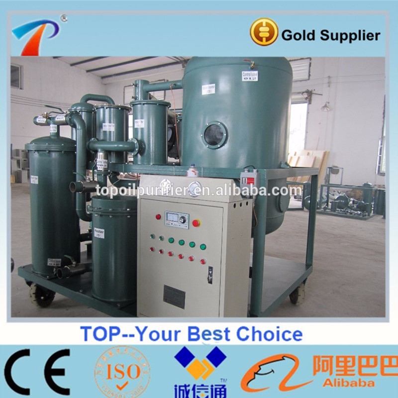 Lubricant Oil Reclaimer/Vacuum Compressor Oil Recycling Machine/Lube Oil Filtration Plant