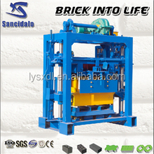 QT40-2 Simple Brick Making Machine for Small Investors