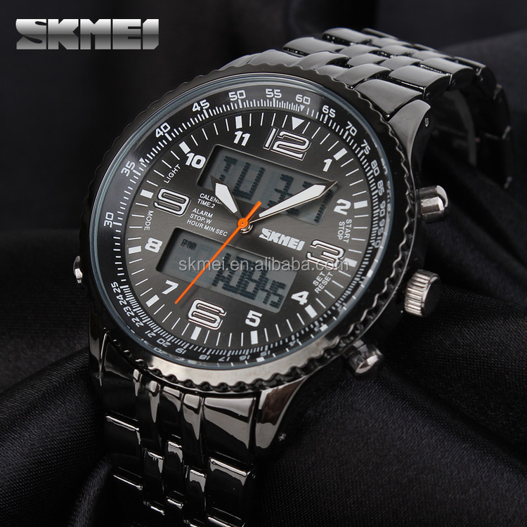custom your own logo high quality men's watches big face watch