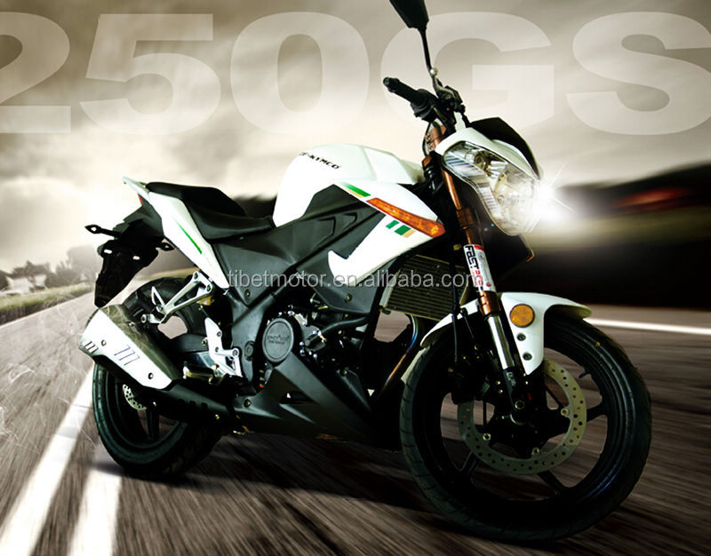Chinese motorcycle 250cc automatic motorcycle racing motorcycle ZF250GS
